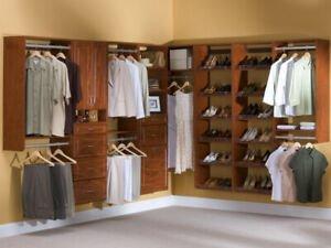 Closet organizers Mississauga