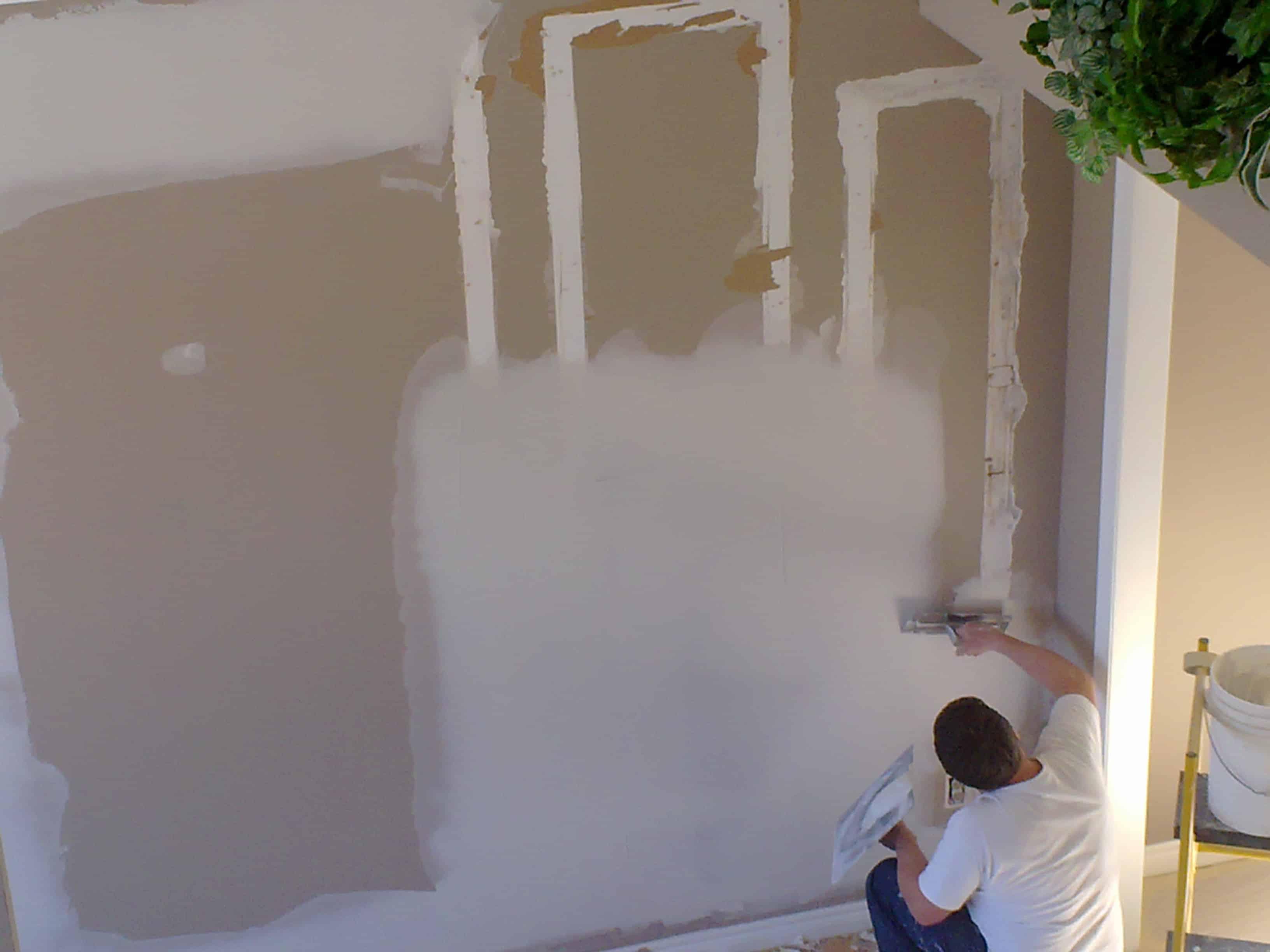 Carpentry and drywall repair