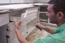 kitchen carbinet painting service