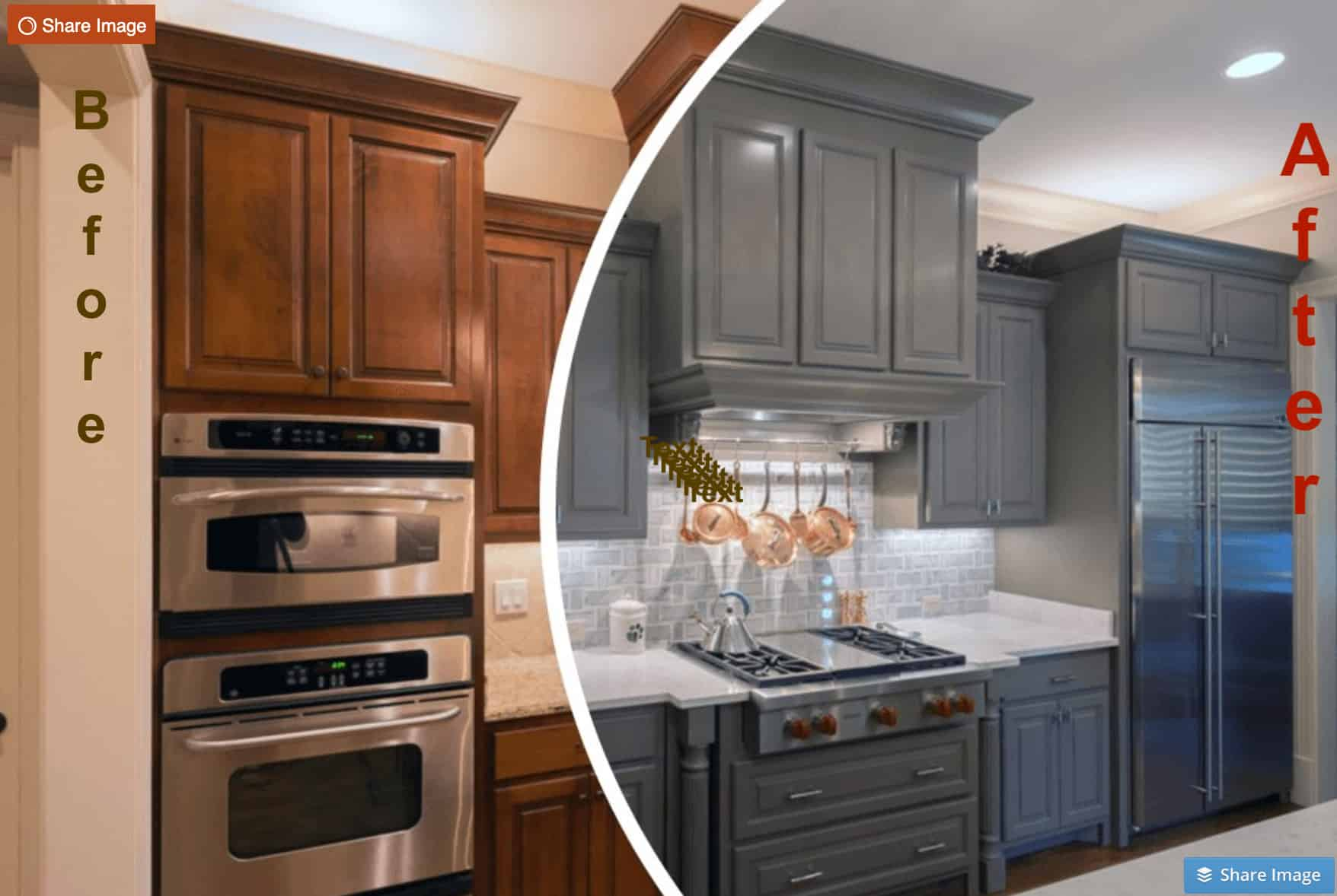 Kitchen cabinet painting,refinish kitchen cabinets, Cabinet Refacing